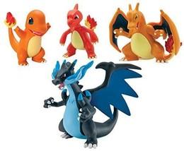 Pokémon Trainer's Choice 4 Figure Gift Pack Charmander Charmeleon Charizard and - $58.86