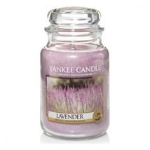 Yankee Candle 1043443E Bougie Parfumée Lavande Grande Violet  - $37.08