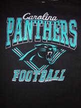 NFL Team Apparel Carolina Panthers Football T-Shirt Size X Large - $17.00