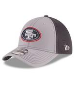 San Francisco 49ers New Era 39Thirty NFL Grayed Out Neo FlexFit M/L Cap Hat - $26.59