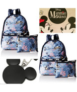 LeSportsac Disney Vacation Paradise Mickey Minnie Mouse Basic Backpack F... - $98.80