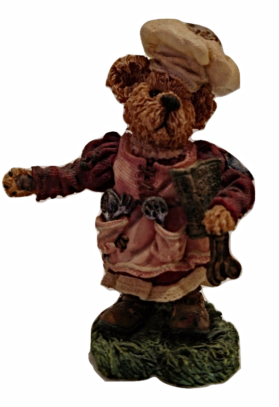 """Boyds Bears """"Bernice as Mrs. Noah...The Chief Cook and Bottle Washer,"""" #2427"""