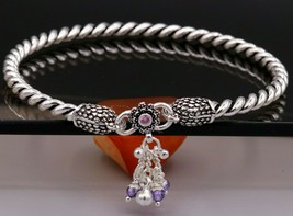 HANDMADE SOLID SILVER PEACOCK SHAPE DESIGN FOOT KADA ANKLE TRIBAL JEWELR... - $227.69