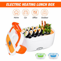 Electric Lunch Box Food Heater - 2-In-1 Portable Food Warmer Lunch Box f... - $20.90