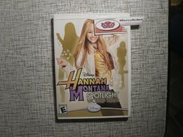Disney Hannah Montana Spotlight World Tour Nintendo Wii Simulation Game - $9.23