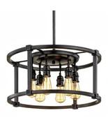 Home Decorators Collection Romaro Row 6-Light Pendant 1001789656 - $168.29