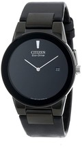 Citizen Men's Eco-Drive Black Leather Axiom Watch AU1065-07E image 1