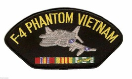 "F-4 PHANTOM VIETNAM VETERAN EMBROIDERED 6"" SERVICE RIBBON MILITARY  PATCH - $15.83"