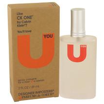 Designer Imposters U You By Parfums De Coeur Cologne Spray (unisex) 2 Oz For Wom - $19.65