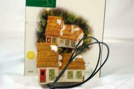 Dept 56 Classic Series Christmas Carol Cottages Bob Cratchet Tiny Tim Light Up - $13.16