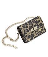 Steve Madden Bobby Leopard Print Belt Bag M/L $54 - $22.23