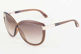Tom Ford ABBEY 327 48F Brown Gold / Brown Gradient Sunglasses FT327 48F ... - $195.02