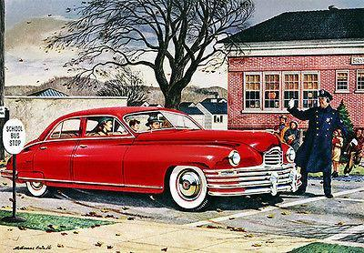Primary image for 1948 Packard - Promotional Advertising Poster