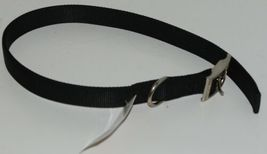 Valhoma 741 24 BK Dog Collar Black Double Layer Nylon 24 inches image 3