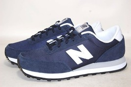New Balance Ballistic ML501NVW Navy Casual Sneakers Men Shoes - $63.95