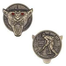"MARINE CORPS TEUFEL HUNDEN DEVIL DOG 2"" CHALLENGE COIN - $18.99"