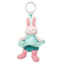Manhattan Toy Baby Bell Chime Bunny Travel Toy - $21.91