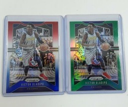 2019-2020 Panini Prizm Victor Olapido Red/Blue & Green Indiana Pacers 2 ... - $7.00