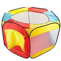 Imagination Generation Pop Up Ball Pit Tent with Mesh Netting and Carry ... - $32.47