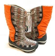 New Columbia Women's Loveland Omni-Heat Print Snow Boots Sage Heatwave Size 7 - $96.02