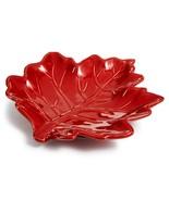 Martha Stewart Collection Harvest Leaf Stoneware Spoon Rest - Thanksgiving - $12.86