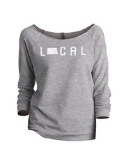 Thread Tank Local North Dakota State Women's Slouchy 3/4 Sleeves Raglan ... - $24.99+