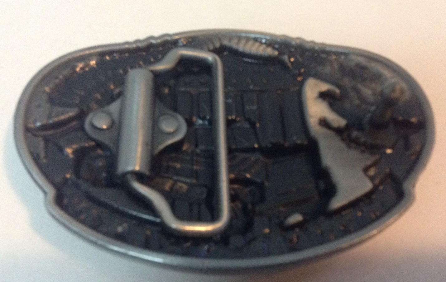 TRUCK DRIVERS MOVE THE NATION Belt Buckle NEW Pewter Finish