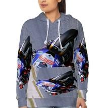 Jorge Lorenzo Racer   Hoodie Fullprint for women image 2