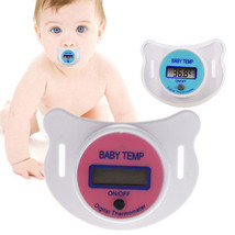 LCD Digital Baby Infant Dummy Pacifier Thermometer Temperature Mouth Nip... - $3.31