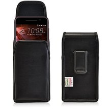 Turtleback Holster Made for HTC One A9 Black Vertical Belt Case Leather Pouch wi - $37.99