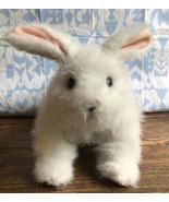 "FurReal Friends Hop N Cuddle Bunny Rabbit White Soft Interactive 7"" Plus... - $11.88"