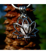 Haunted Magickal Lotus Charm Life renewal and regeneration  - $25.00