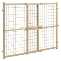 Evenflo Position & Lock™ Plus Gate, Clear Wood/Beige Mesh - 662 - $43.28