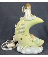 Roman Sweet Dreams Nightlight Tabletop Plug-in Electric Angel Baby Praye... - $27.95