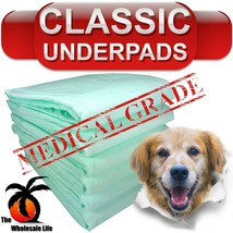 100 Dog Puppy Pads 23x24 Training Wee Wee Chux Pee Potty Housebreaking Underpads - $22.79