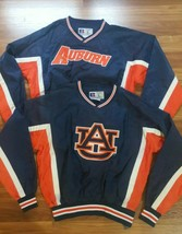 2 NEW Auburn Tigers Russell TACKLE TWILL Golf Pullover Jacket WATERPROOF... - $89.09