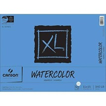 Canson XL Series Watercolor Textured Paper Pad for Paint, Pencil, Ink, C... - $28.95