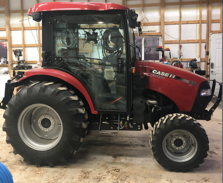 2017 CASE IH FARMALL 55C CVT For Sale In New Florence, Missouri 63363