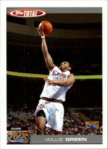 2004-05 Topps Total #98 Willie Green NM-MT 76ers - $0.99