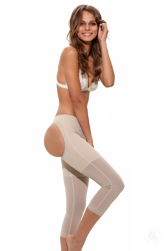Primary image for Double-O® Powernet Lowrise Capri STRONG Control Shapewear by Bubbles Bodywear