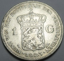 Netherlands 1923 Gulden Silver~Free Shipping - $23.31