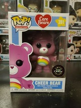 Funko Pop! Care Bears Cheer Bear #351 Chase Vinyl Figure WITH PROTECTOR! - $24.44