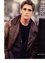 Matt Dillon teen magazine pinup clipping Bop Teen Beat Tiger Beat Thinking