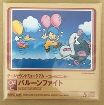 Balloon Fight Game Sound Museum Famicom Audio CD Japan Import - $29.70