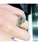 2.50 Ct Diamond Engagement Ring Wedding Band Bridal Set 14k White Gold F... - $91.55