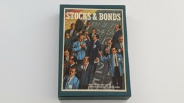 Stocks and Bonds Bookshelf Market Investment Board Game 1964 3M Company - $24.74