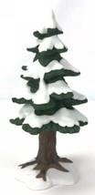 Dept. 56 Heritage Village Accessory:  Village Porcelain Small Pine Tree ... - $15.74