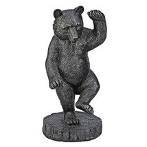 "31.5"" Upright Dancing Majestic Black Bear Dance Painting Come to Life St... - $345.51"
