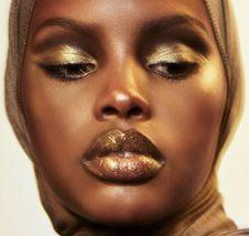 Fenty Beauty Hyper Glitz Lipstick / Multiuse Color TROPHY WIFE 1.1g image 3