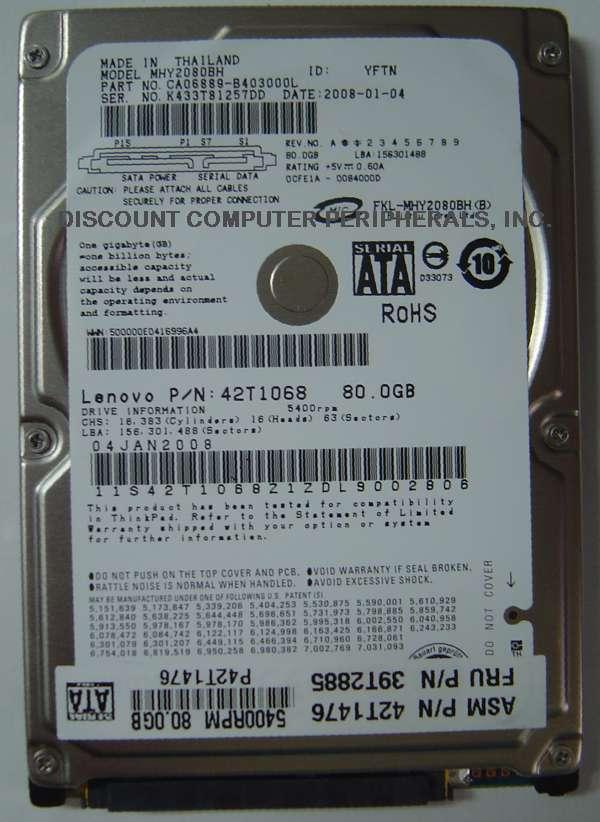 Fujitsu mhy2080bh